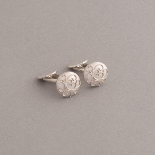 Manschettenknöpfe aus Silber