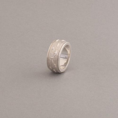 Ring aus Silber Fische