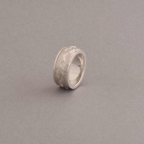 Ring aus Silber Flügel