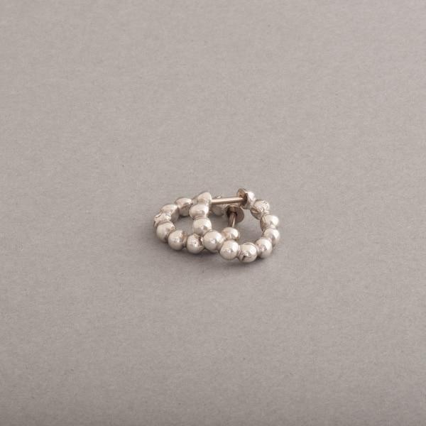 Kreolen aus Silber