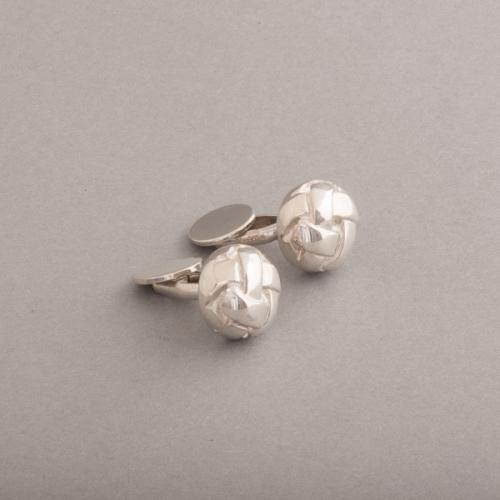 Manschettenknöpfe aus Silber Knoten