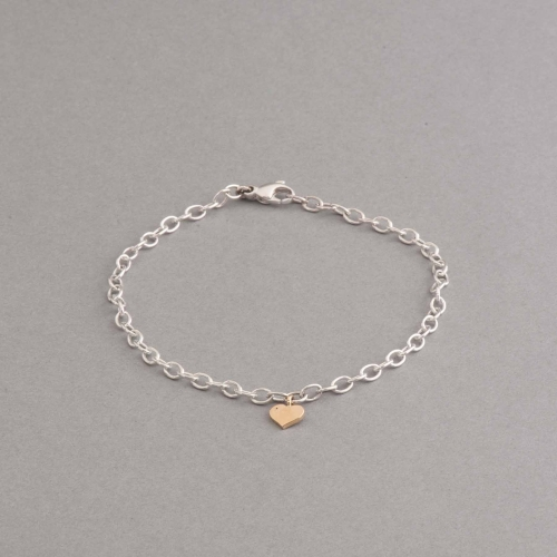 armband-aus-silber-goldherz