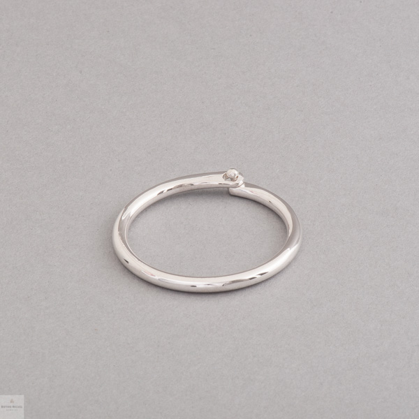 Schlüsselring aus Silber, Juwelier und Goldschmiede Botho Nickel Schmuck Hamburg