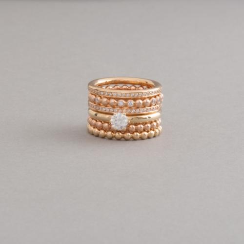 Ringe aus 18 Karat Gold mit Brillanten, Juwelier und Goldschmiede Botho Nickel Schmuck Hamburg