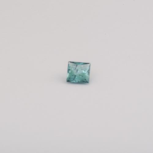 Edelsteine Turmalin Indigolith im Princess Cut Juwelier , Goldschmiede und Gemmologe Botho Nickel Schmuck Hamburg