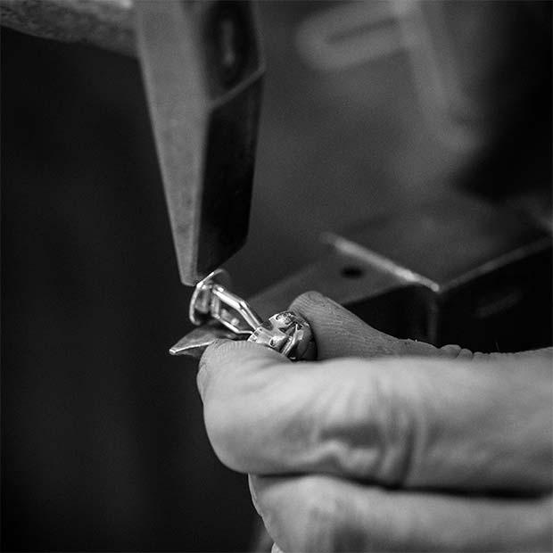 Manschettenknöpfe handgefertigt aus Hamburg Botho Nickel