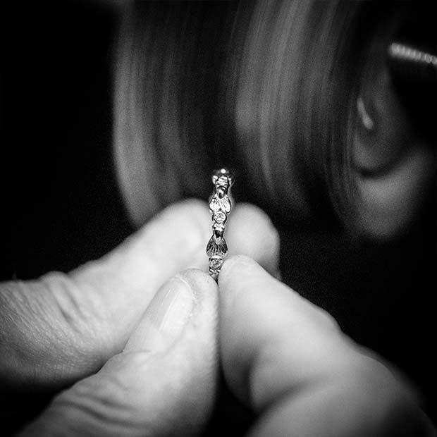 Ringe aus Hamburg handgefertigt von Botho Nickel Goldschmiede