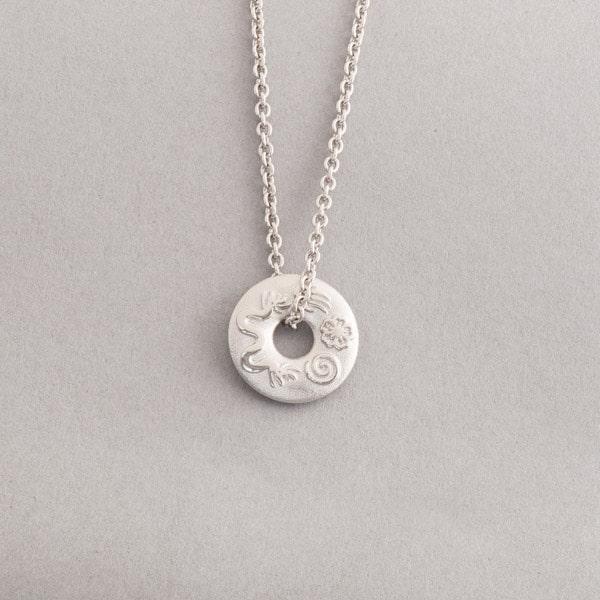 Kette aus 950er Platin mit Anhänger Confidence, Botho Nickel Schmuck Hamburg, Juwelier, Goldschmiede, Gemmologe und Diamantgutachter