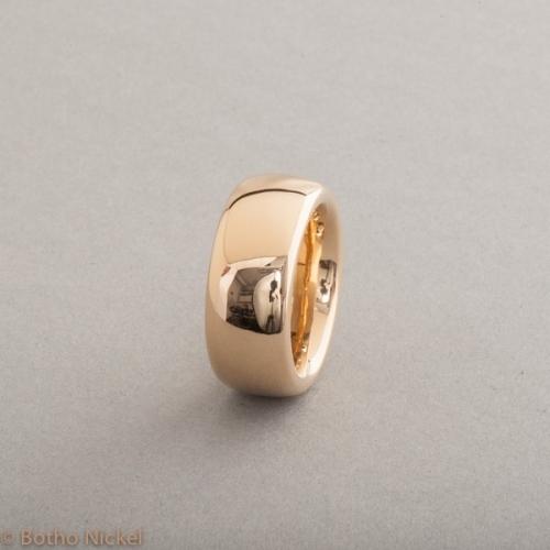 Ring aus 18 Karat Gold, Botho Nickel Schmuck Hamburg, Juwelier und Goldschmiede
